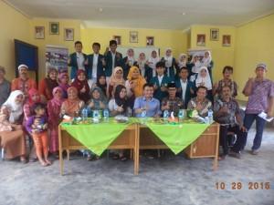 Mahasiswa D III Keperawatan Universitas Muhammadiyah Riau Melakukan Praktek Keperawatan Komunitas II