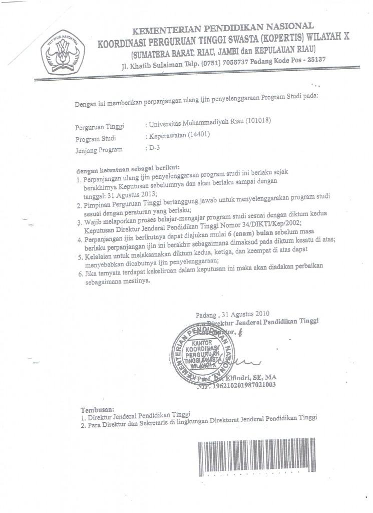 SK Perpanjangan Izin Prodi Exp2 001