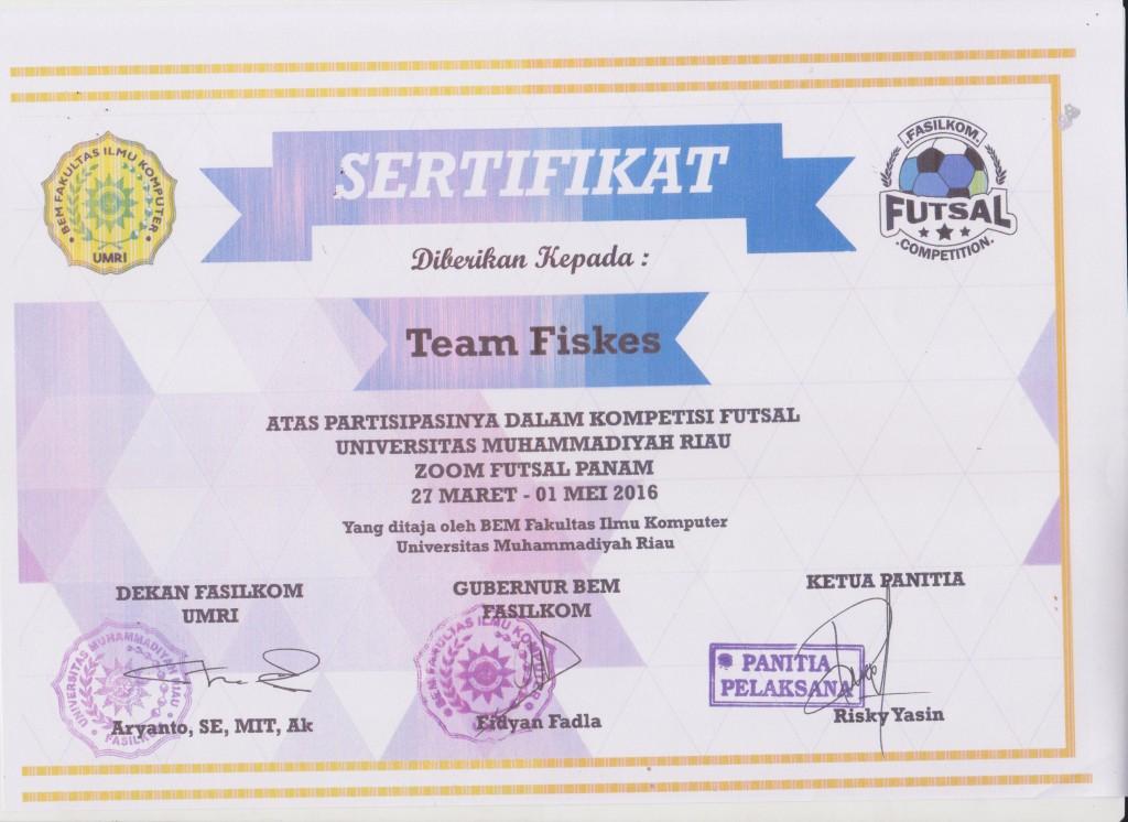 sertifikat futsal fiskes 001