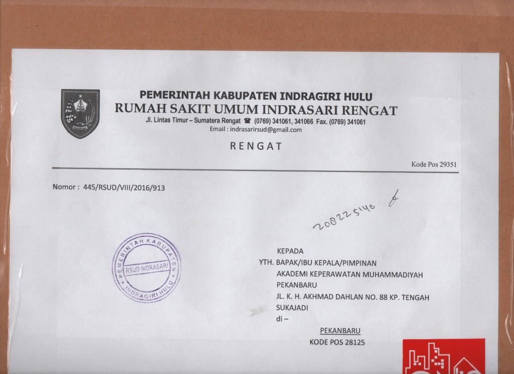 RSUD INDRASARI RENGAT INHU 001