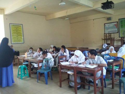 Team Promosi KEPERAWATAN DAN FMIPAKES UMRI ke sekolah PGRI (Senin, 30 Januari 2017)