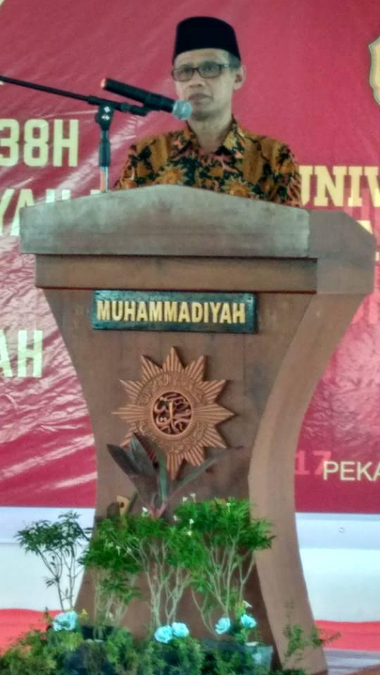 SILATURAHMI UMRI DENGAN PP MUHAMMADIYAH (KAMPUS 2 UMRI 24 mei 2017- DR.KH.Haedar nashir, M.Si)