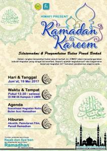 """PHYSICS'S DAY """"Silaturahmi dan Penyambutan Bulan Suci Ramadhan"""""""
