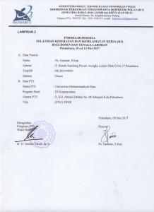isnaniar (formulir peserta pelatihan k3 10 s.d 13 mei 2017) 001