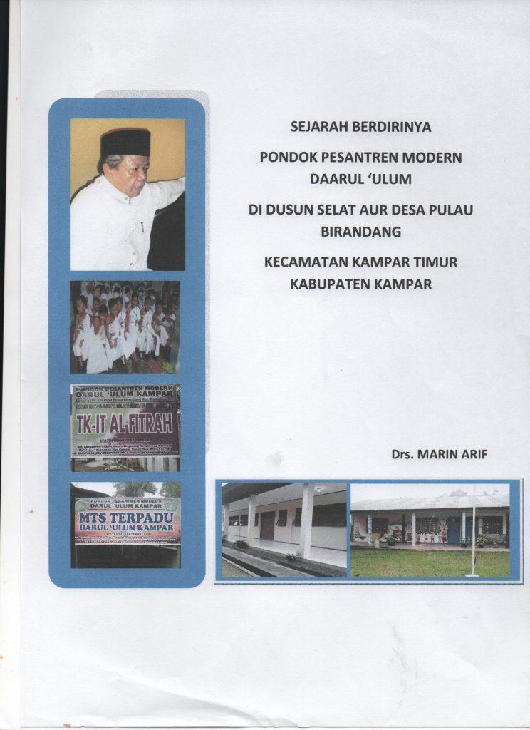 """""""Saya ini kader dan aset organisasi"""" (Drs. Marin Arif)"""