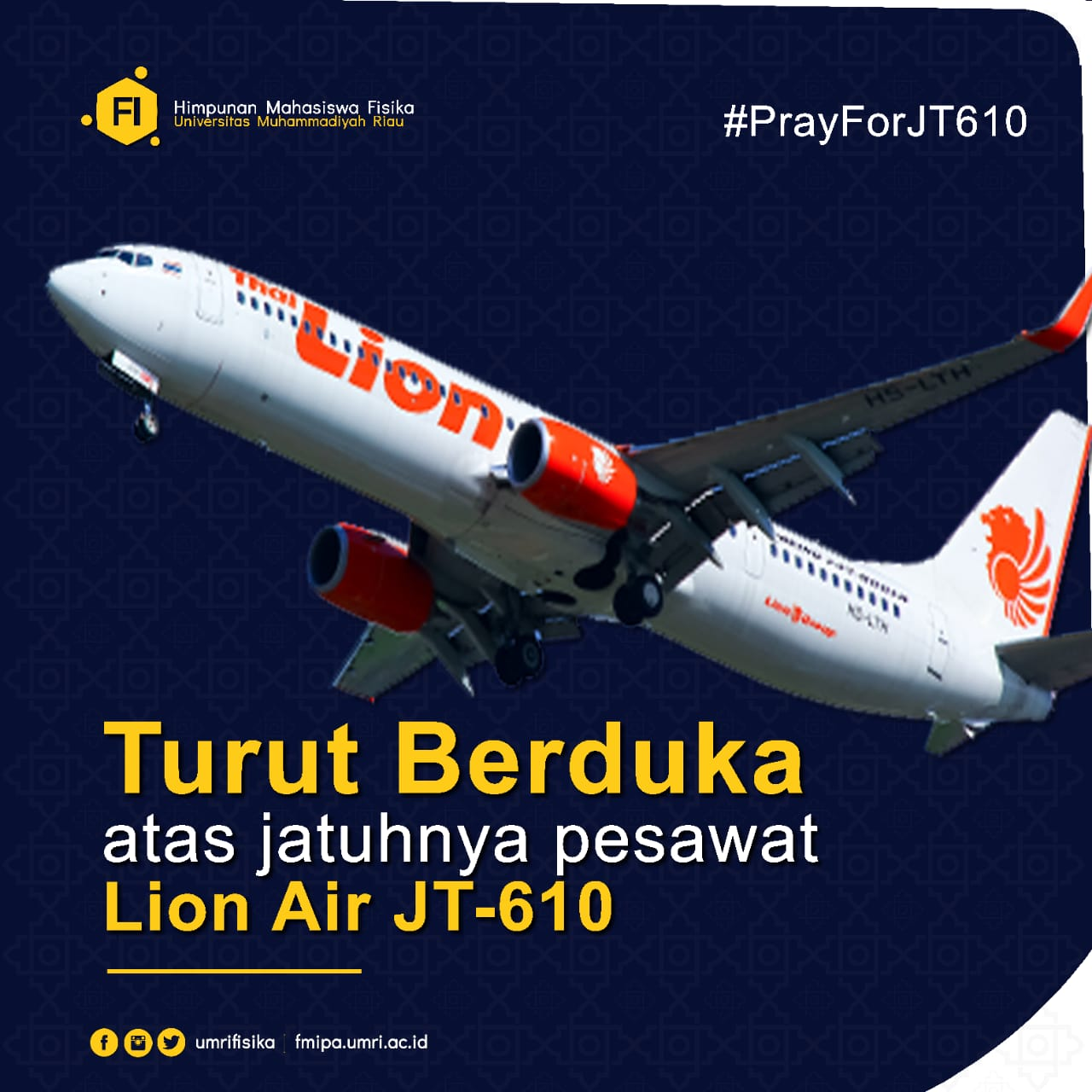 LET'S PRAY FOR JT-610. HOPING THEY WILL BE ABLE TO FIND SURVIVORS THAT ARE STILL ALIVE