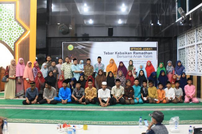 Semarak Ramadhan 1440 H, Fakultas MIPA dan Kesehatan UMRI gelar buka puasa bersama anak yatim
