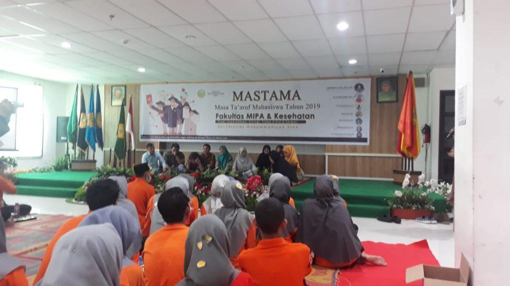 PKKMB&MasTa Mahasiswa Baru Fakultas MIPAKes