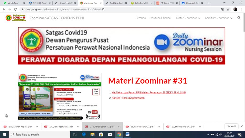 MATERI ZOOMINAR BAPENA PPNI 2020 (#31-40)